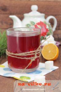 Ягодный чай с каркаде