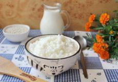 Рисовая молочная каша как в детском саду