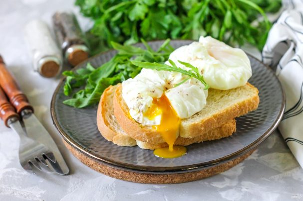Яйца пашот в домашних условиях