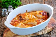 Запеченные куриные ножки с йогуртом и горчицей