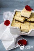 Сыромак (творожный чизкейк с маковой начинкой)