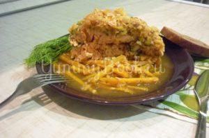Запечённый лосось в апельсиново-чесночном соусе