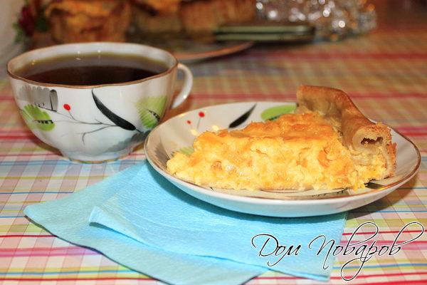 Пирог с апельсинами «Праздничный»