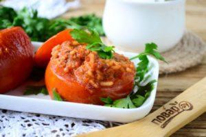 Фаршированные томаты «Сеньор Помидор»