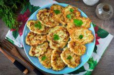 Котлеты из кабачков с рисом