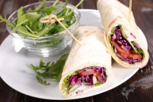 Овощные роллы из лаваша: легкая закуска