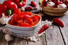Болгарский перец в томате с чили