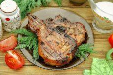 Чалагач из свинины на мангале