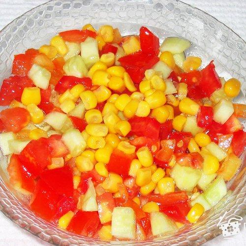 Салат овощной «Хорошее настроение»