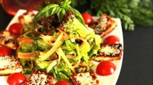 Зеленый салат «Фрэш»