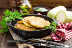 Кабачковые оладьи: простой рецепт