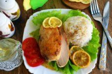 Куриные грудки «Цитрусовая весна»