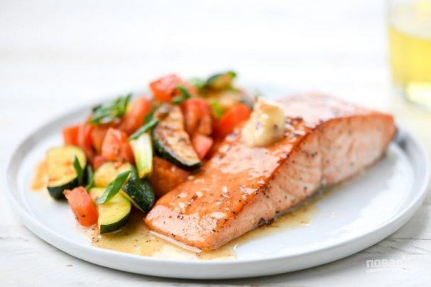 С каким гарниром сочетается рыба на диете